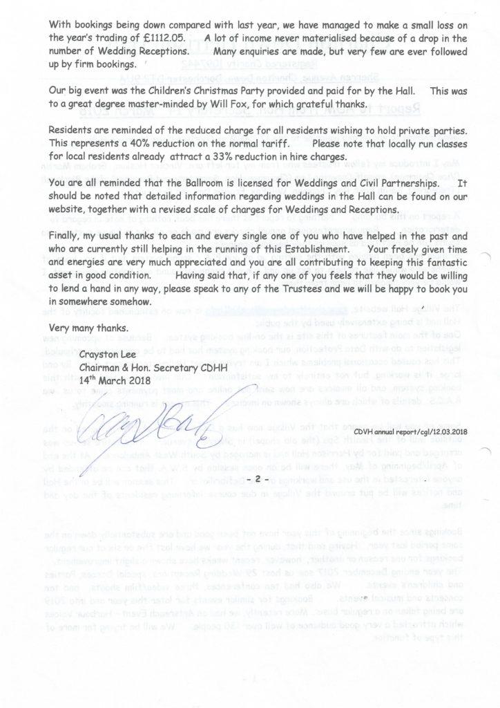 Chairmans report 2 724x1024 CHAIRMANS REPORT   2018