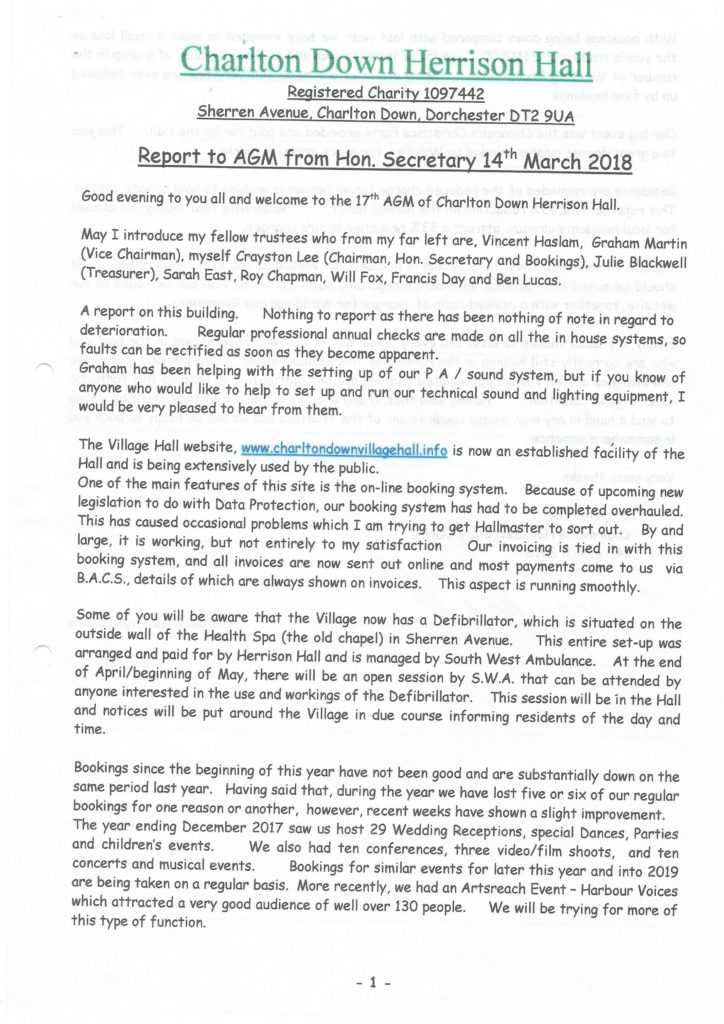 Chairmans report 724x1024 CHAIRMANS REPORT   2018