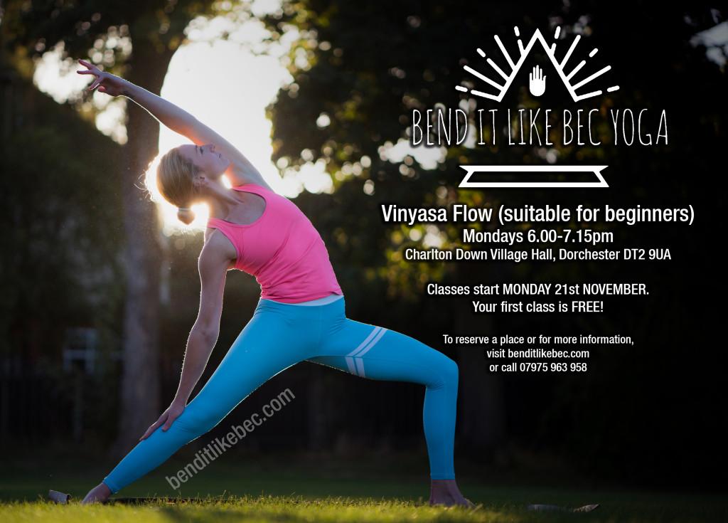Monday Yoga 1024x735 MONDAY YOGA WITH REBECCA
