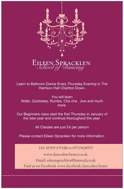 Eileen Spracklen EILEEN SPRACKLEN SCHOOL OF DANCING