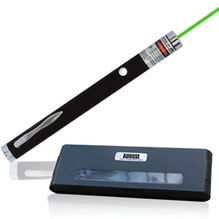 Laser pointer Help on use of Audio Equipment