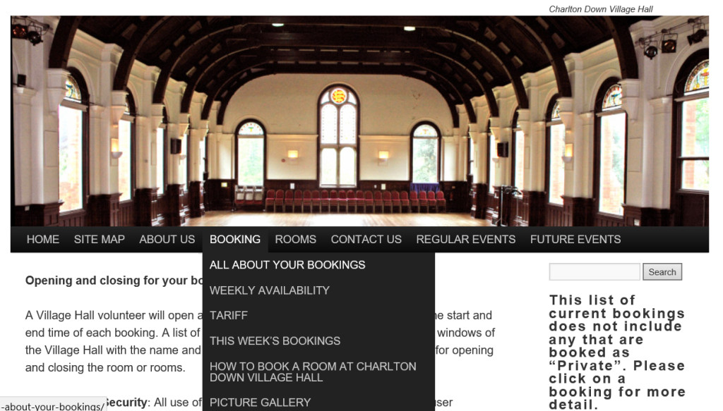 Home page 2 1024x583 HOW TO BOOK A ROOM AT Charlton Down Herrison Hall